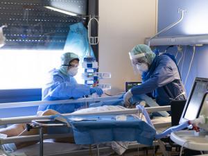 无国界医生在意大利洛迪(Lodi)提供支援。© Davide Arcuri